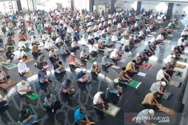 Masjid Agung di Komplek Pemkab Bogor kembali gelar sholat Jumat
