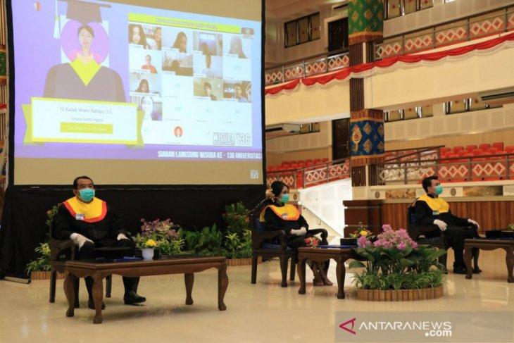 Universitas Udayana wisuda 670 lulusan secara daring