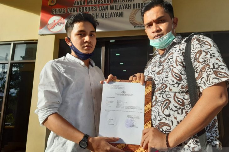 Warga Banda Aceh lapor akun facebook diduga hina Wapres RI dan Plt Gubernur Aceh