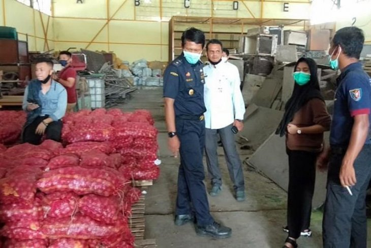 Aceh Timur terima hibah 15 ton bawang merah dari Kanwil Bea Cukai Aceh