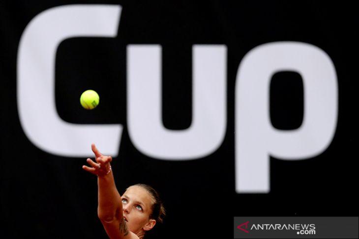 Juara bertahan Pliskova bertemu Halep di  Italian Open