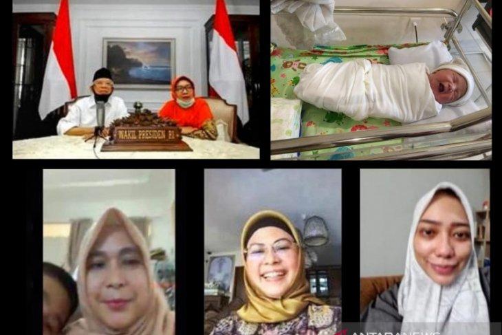 Wapres kirim Al-Fatihah lewat telekonferensi sambut kelahiran cucu