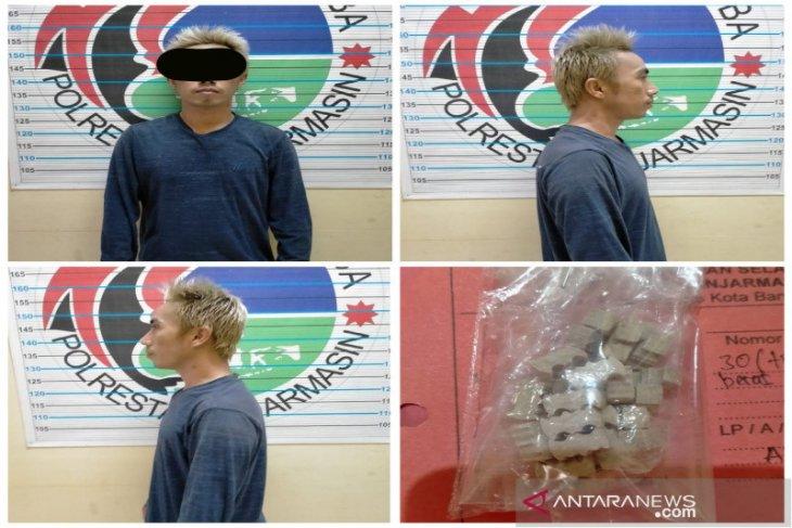 Satresnarkoba Banjarmasin ringkus pedagang miliki ekstasi sebanyak 30 butir