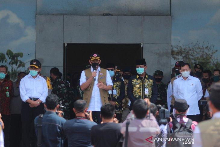 Kunjungan Kerja Tiga Pejabat Negara Di Kalsel