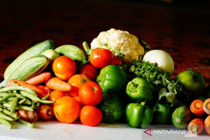 Lima porsi sayuran dan buah bantu turunkan risiko kanker