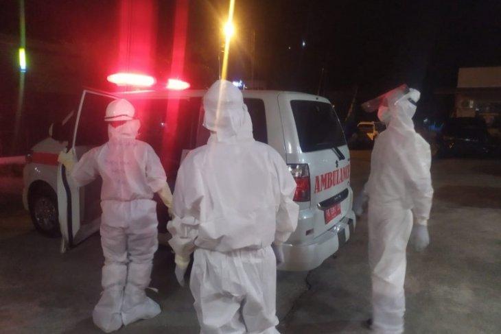 Tahanan terinfeksi COVID-19 dievakuasi ke RSUD Abepura