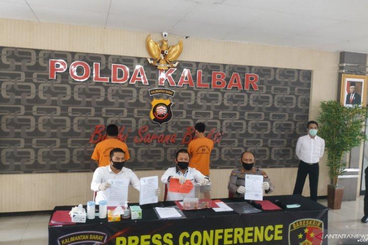 Polda Kalbar amankan dua tersangka pemalsuan surat perjalanan bebas COVID-19