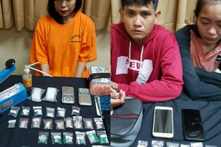 Polda Bali tangkap tiga perempuan kurir narkoba