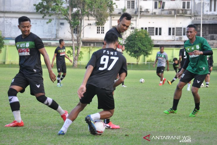PSMS Medan terus matangkan persiapan hadapi Liga 2
