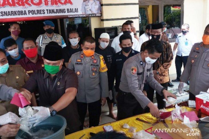 Kapolres Tanjungbalai berharap PN hukum berat bandar narkoba