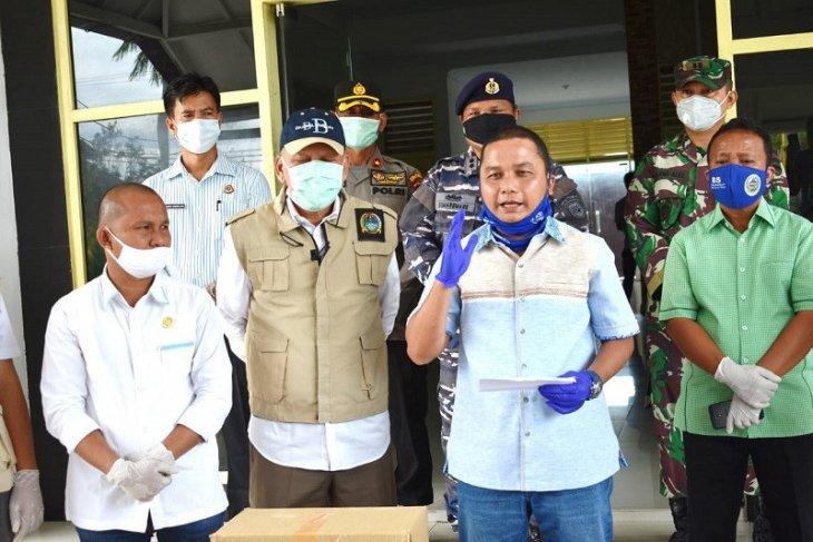 Bupati Tapteng ajukan permohonan bantuan sembako COVID-19 tahap dua ke gubernur
