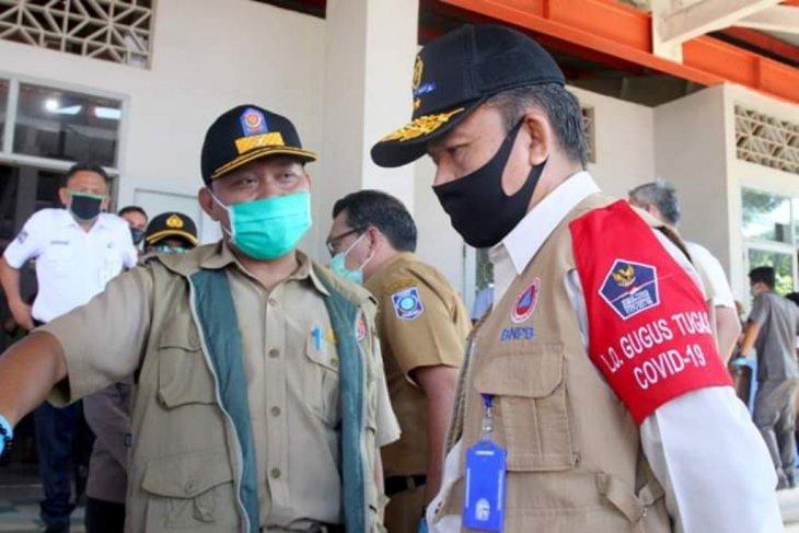 Gugus Tugas COVID-19 Pusat pantau Pelabuhan Tanjungkalian Mentok
