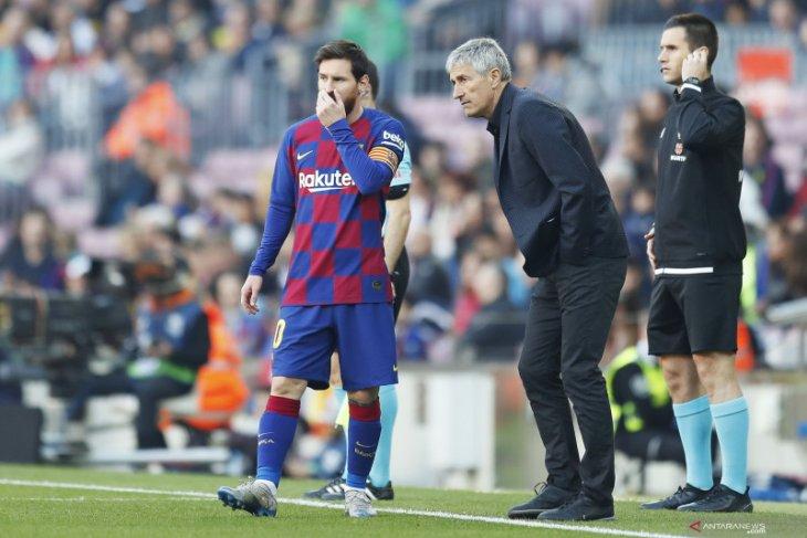 Liga Spanyol, Messi siap diturunkan lawan Real Mallorca meski sempat dikabarkan cedera
