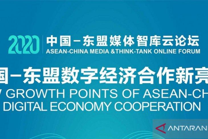 Kerja sama media ASEAN-China mampu bangkitkan ekonomi digital