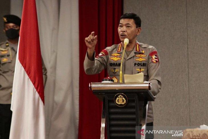 Kapolri minta jajaran tingkatkan keamanan cegah kebakaran markas Polri