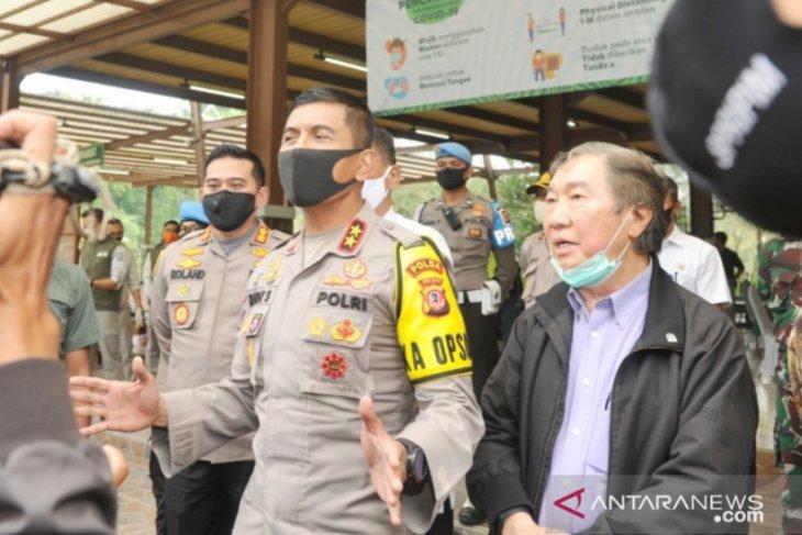 Kapolda Jabar kawal rapid test COVID-19 di TSI Cisarua Bogor