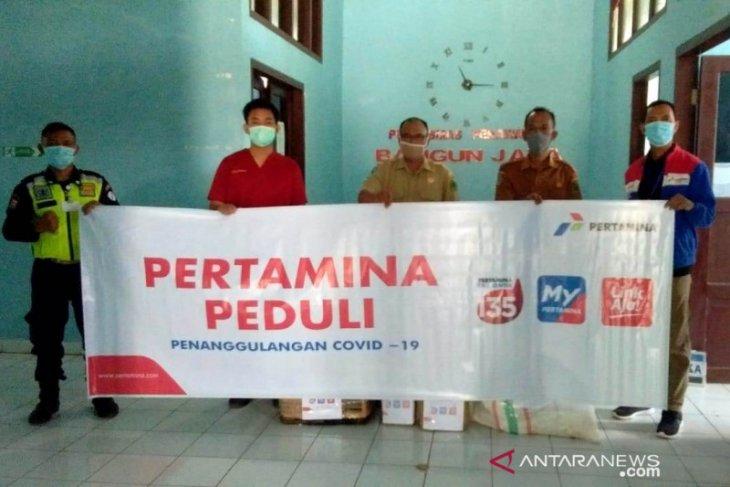PT PGE Proyek Bukit Daun salurkan bantuan APD