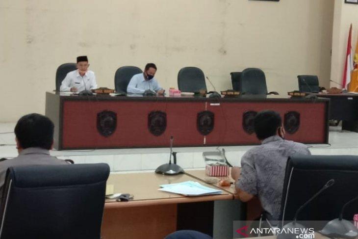 Anggaran COVID-19 menjadi pembahasan di DPRD HST
