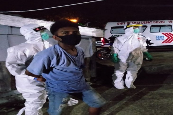 Empat  tahanan positif COVID-19 kabur di Papua, dua diringkus lagi