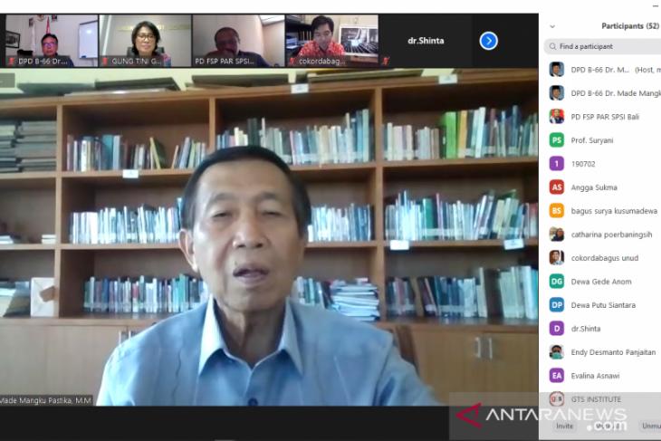 Senator Pastika  khawatirkan peningkatan gangguan mental warga Bali