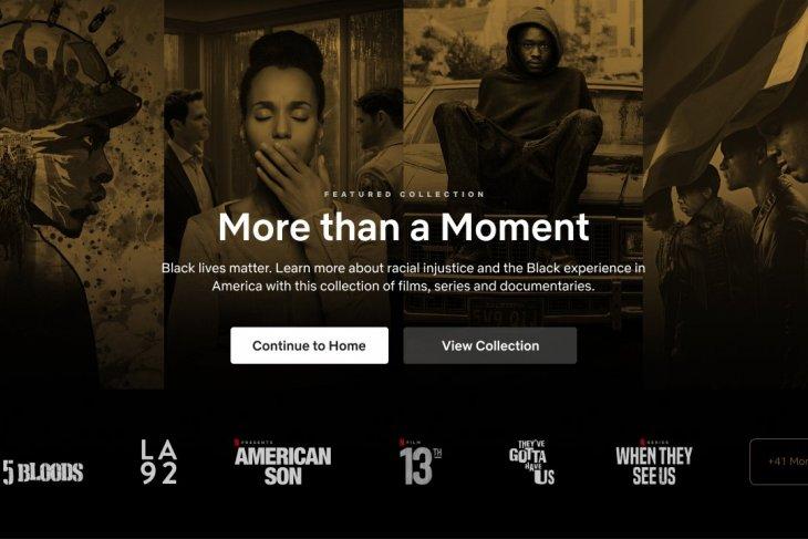 Netflix buat koleksi film dan serial untuk kampanyekan #BlackLivesMatter