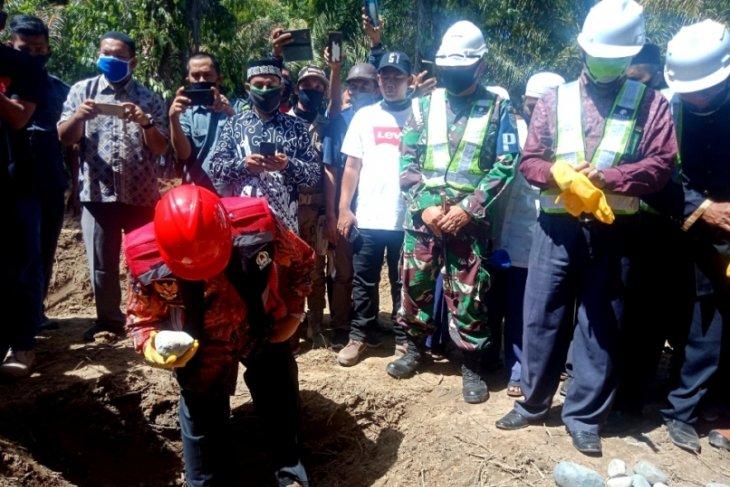 West Aceh administration builds new bridge at estimated Rp31.5 million
