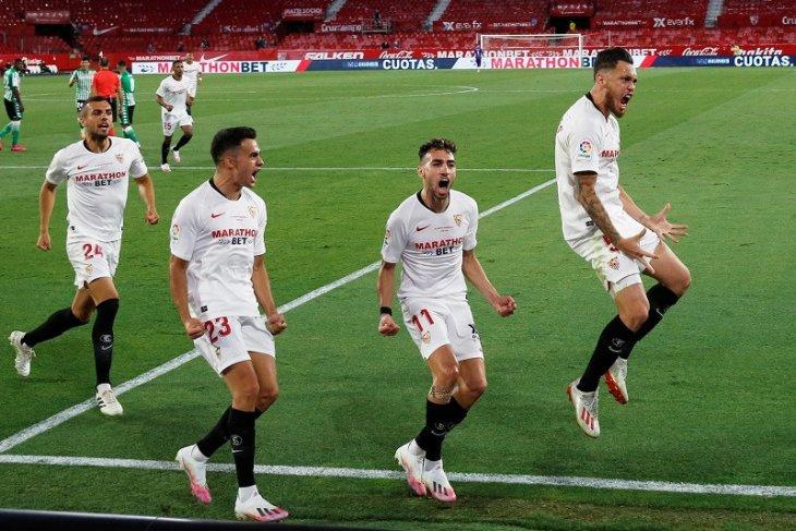Liga Europa: Sevilla maju ke perempat final berkat kemenangan 2-0 atas Roma