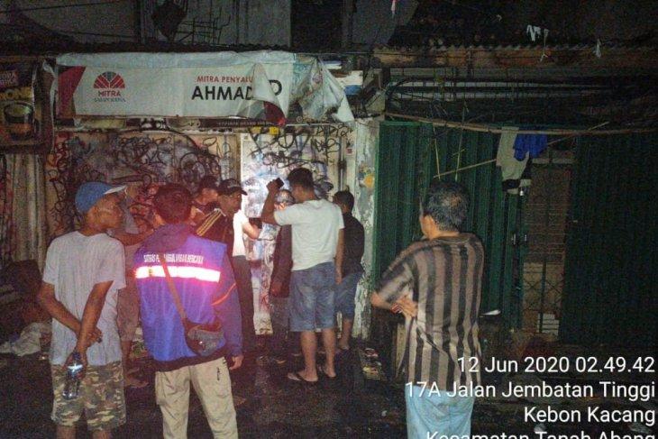 Kebakaran landa rumah tinggal di Kebon Kacang Jakarta