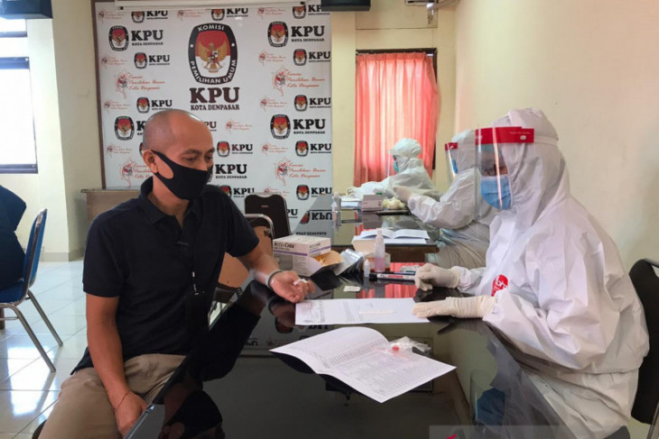 Anggota KPU Bali dan enam kabupaten/kota ikuti