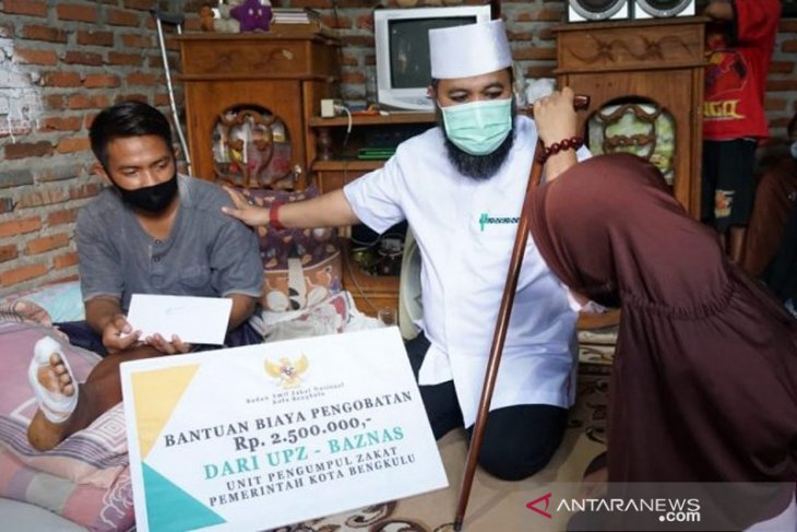 Wali Kota Bengkulu bantu biaya berobat dua warga