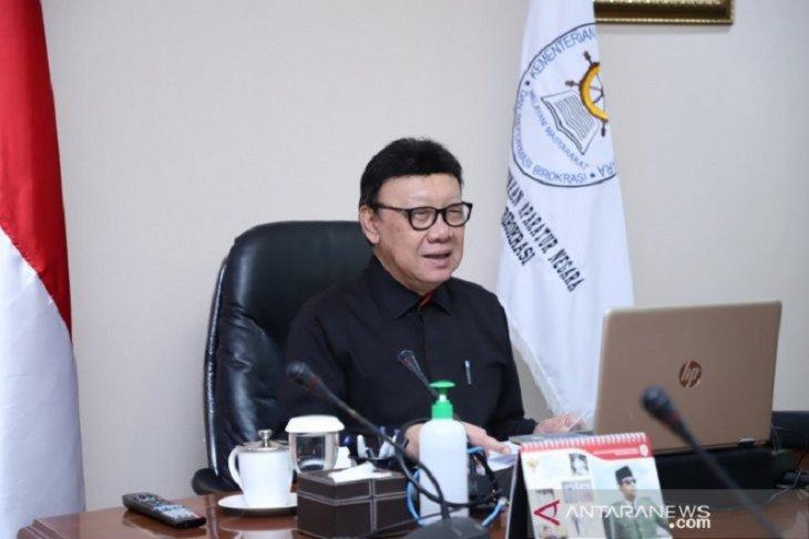 Tjahjo Kumolo: Migrasi ASN belum dibahas karena fokus COVID-19
