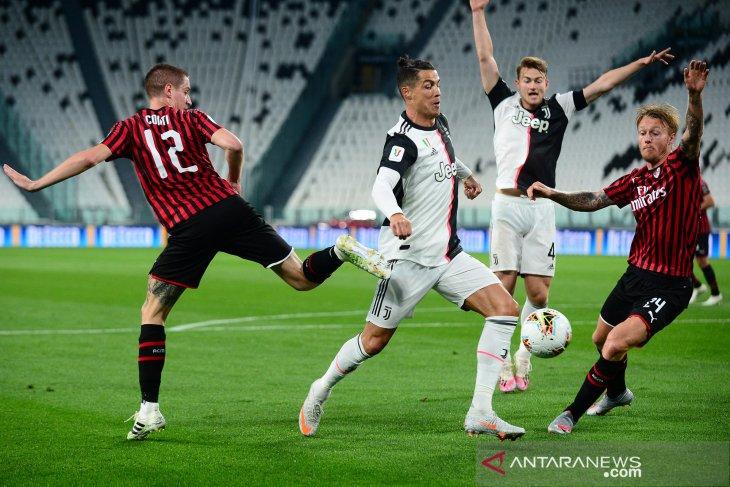 Singkirkan Milan, Juventus melaju ke final Piala Italia