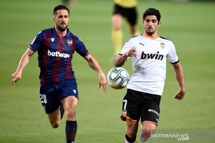 Valencia vs Levante berakhir imbang 1-1 di Liga Spanyol