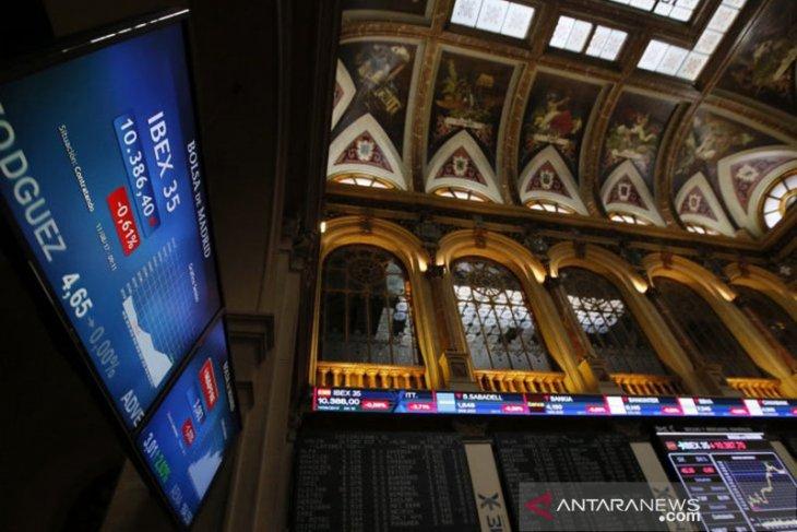 Saham Spanyol berakhir negatif, indeks IBEX 35  jatuh 0,39 persen