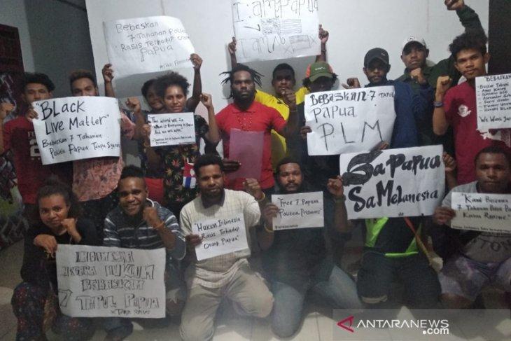 Solidaritas IMAPA Bengkulu minta tujuh tahanan politik Papua dibebaskan