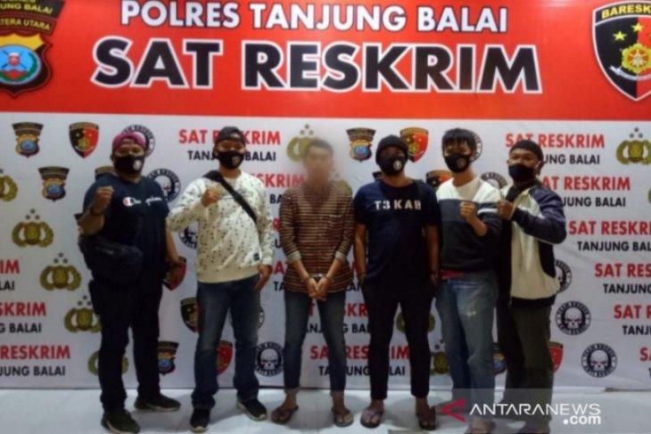 Sat Reskrim Polres Tanjungbalai amankan pelaku cabul
