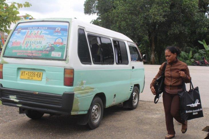 Angkutan Umum di Paser Kembali Beroperasi dengan Protokol Kesehatan