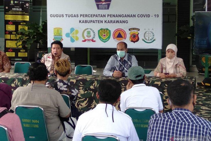 Gugus Tugas khawatir kasus  COVID-19 di Karawang meningkat lagi