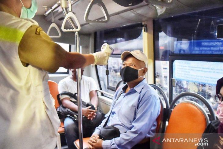 20 bus gratis angkut 260 penumpang dari Stasiun Bojonggede dan Cilebut