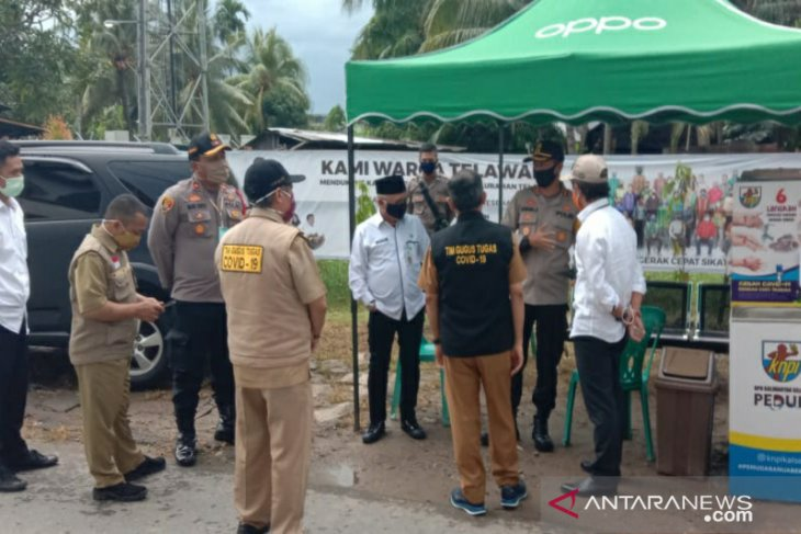 Video - Kampung Tangguh Banua Telawang dapat apresiasi Tim Supervisi Pemprov