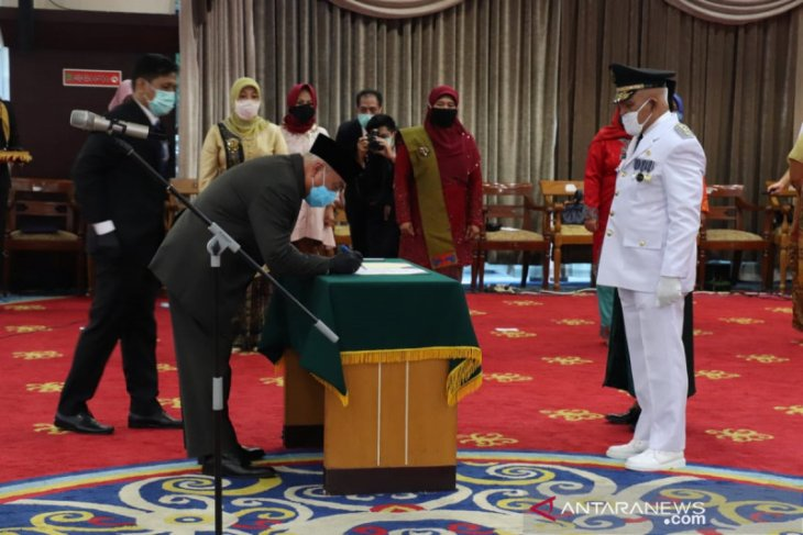 Chairil Anwar dilantik jadi Wakil Bupati Kukar