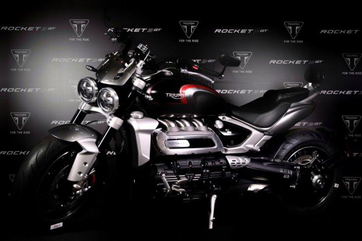 Triumph Rocket 3 GT masuk Indonesia dibanderol Rp750 juta