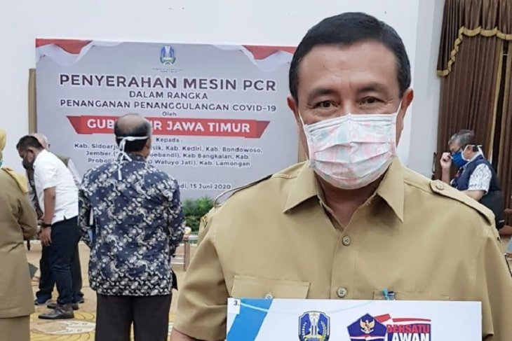 Kabupaten Kediri dapat bantuan satu mesin PCR