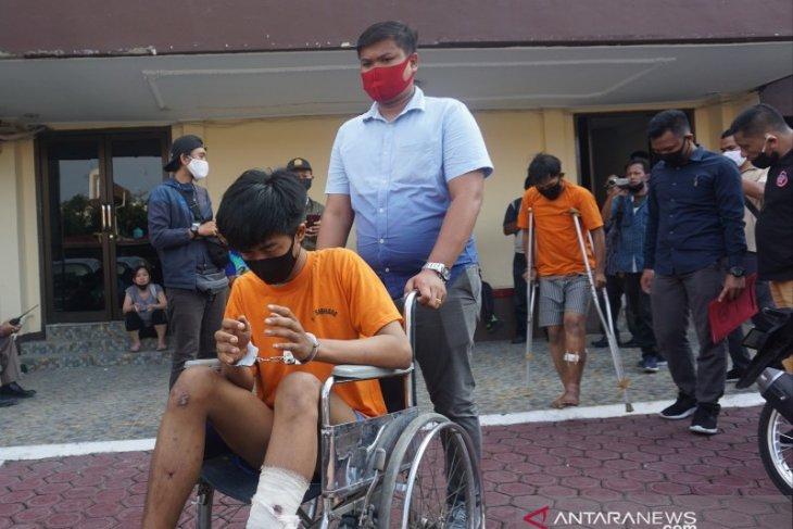 Polisi tangkap empat napi asimilasi yang kembali berulah di Medan, satu ditembak mati