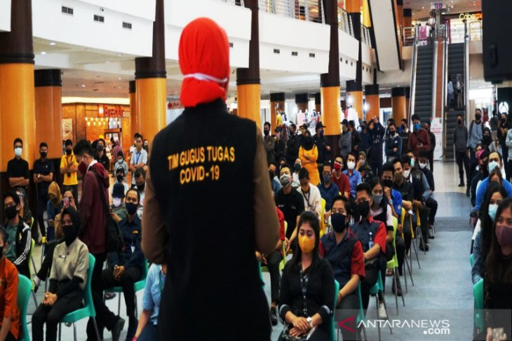 Duta Mall dan Dinkes Banjarmasin gelar sosialisasi pencegahan COVID-19 pasca PSBB
