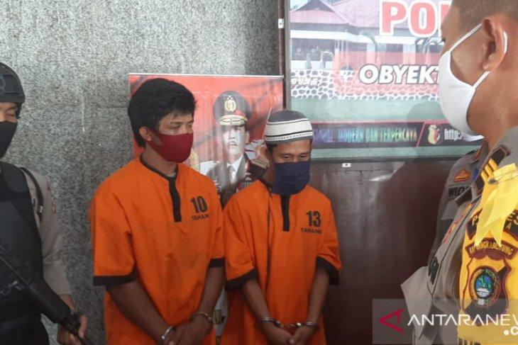 Polsek Pemali berhasil amankan dua pelaku pencurian (Video)