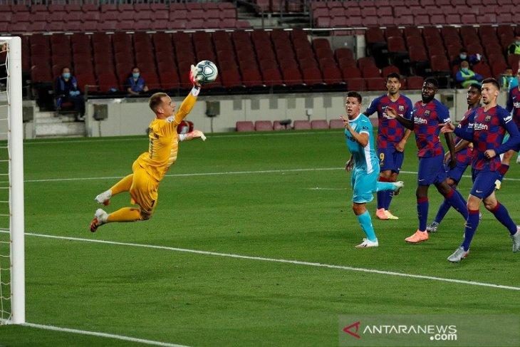 Barcelona kembali memperlebar jarak dengan Real Madrid