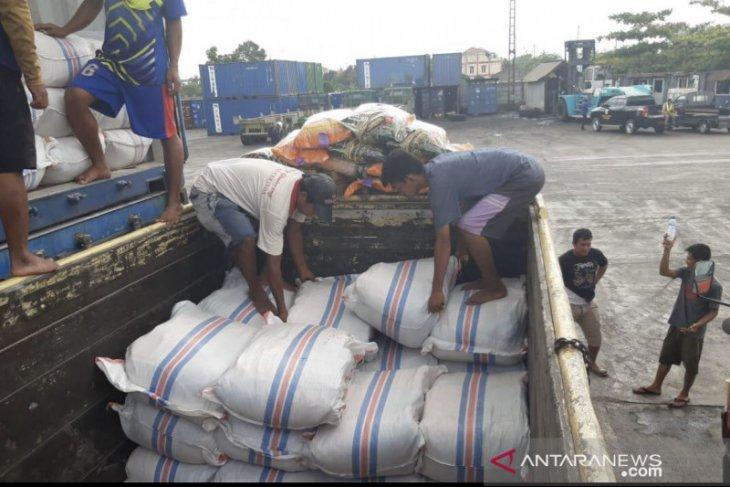 Puluhan ton benih padi dari NTB tiba di Samarinda