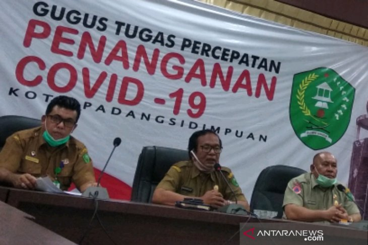 Seorang Polisi Padangsidimpuan positif COVID-19