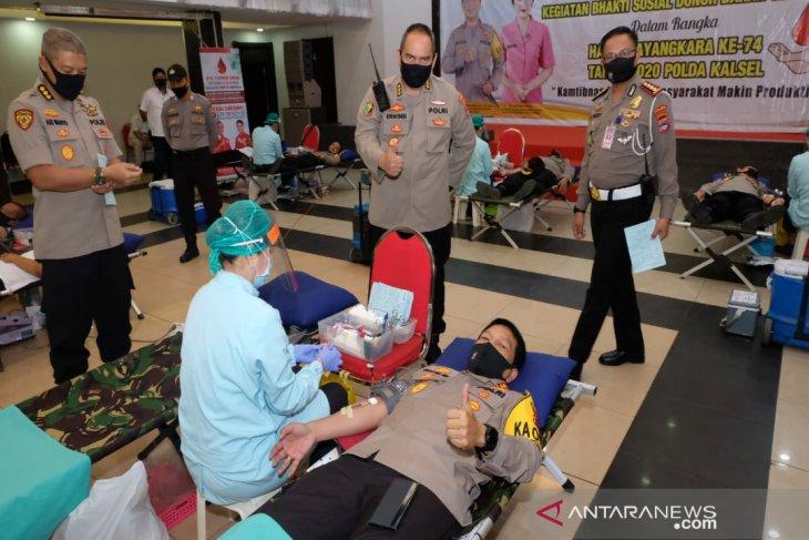 Irjen Nico gelorakan donor darah bantu kebutuhan PMI di saat pandemi